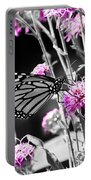 Lavender Flowers Portable Battery Charger