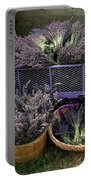 Lavender Harvest Portable Battery Charger
