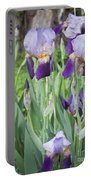 Lavender Iris Group Portable Battery Charger