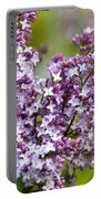 Lavender Lilacs Portable Battery Charger