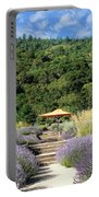 Lavender Path Portable Battery Charger