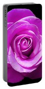 Lavender Rose Portable Battery Charger