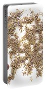 Lavender Seeds Portable Battery Charger