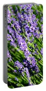 Lavender Square Portable Battery Charger