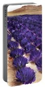 Lavender Study - Marignac-en-diois Portable Battery Charger
