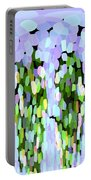 Lavender Tear Drops Portable Battery Charger