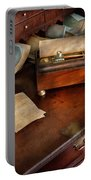 Lawyer - Important Documents  Portable Battery Charger by Mike Savad