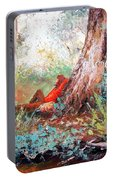 Lazy Summer's Day By Jan Matson Portable Battery Charger