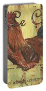 Le Coq Portable Battery Charger by Debbie DeWitt