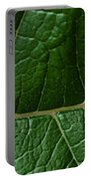 Leaf Close Up Portable Battery Charger