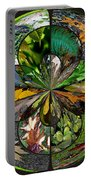 Leaf Collage Orb Portable Battery Charger