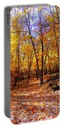 Leaf Covered Trail Portable Battery Charger