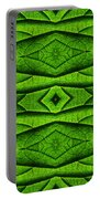 Leaf Structure Abstract Portable Battery Charger