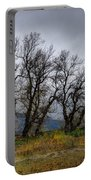 Leafless Trees Portable Battery Charger