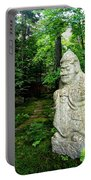 Leafy Path And Statuary Abby Aldrich Garden Portable Battery Charger