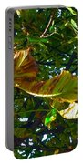 Leafy Tree Image Portable Battery Charger