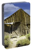 Leaning Barn Of Bodie California Portable Battery Charger