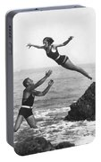 Leap Into Life Guard's Arms Portable Battery Charger