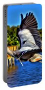 Leaping Egret Portable Battery Charger