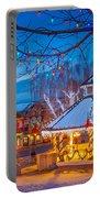 Leavenworth Gazebo Portable Battery Charger by Inge Johnsson