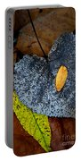Leaves At Oak Openings Portable Battery Charger