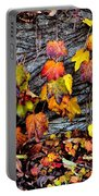Leaves At The Levee Portable Battery Charger
