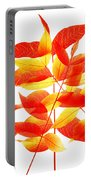Leaves In Fall Portable Battery Charger