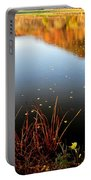 Leaves On The Lake Portable Battery Charger