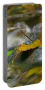Leaves On The Rocks Portable Battery Charger