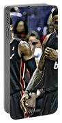 Lebron James And Dwyane Wade Portable Battery Charger