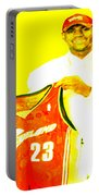 Lebron James Going Home Portable Battery Charger
