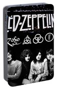 Led Zeppelin Portable Battery Charger