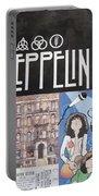 Led Zeppelin Past Times Portable Battery Charger