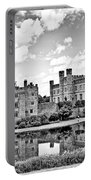 Leeds Castle Black And White Portable Battery Charger
