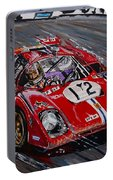 Legendary Tony Adamowicz In The Ferrari 512m Portable Battery Charger
