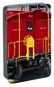 Lehigh New England Railroad Caboose 583 Portable Battery Charger