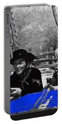 Leif Erickson Cameron Mitchell  Mark Slade Number 1 The High Chaparral Set Old Tucson Az 1969 Portable Battery Charger by David Lee Guss