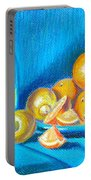 Lemons And Oranges Portable Battery Charger