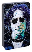 Lennon Portable Battery Charger by Chris Mackie