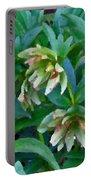 Lenten Roses Portable Battery Charger