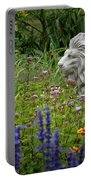 Leo In The Garden Portable Battery Charger
