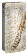Leonardo: Anatomy, 1510 Portable Battery Charger