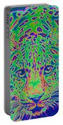 Leopard Eyes Green Portable Battery Charger