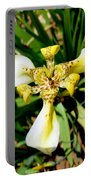 Leopard Orchid Portable Battery Charger