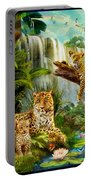 Leopards Portable Battery Charger