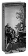Leopold Mozart And His Two Children Portable Battery Charger