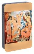 Les Demoiselles D'avignon Picasso Portable Battery Charger