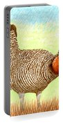 Lesser Prairie Chicken Portable Battery Charger by Jack Pumphrey