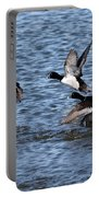Lesser Scaup Ducks Portable Battery Charger