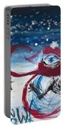 Let It Snow Version One Portable Battery Charger